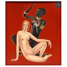 Jacques Nam laque jean dunand gaston suisse africaine europe art deco 1920