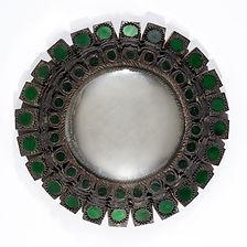 Line vautrin miroir mazarin vert 1955