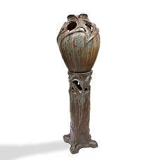 Arthur Craco belge belgique céramique complet pièce de musée piédestal monumental