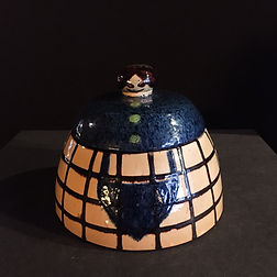francis jourdain art deco bonbonniere rare ceramic fonctionnalisme 1920