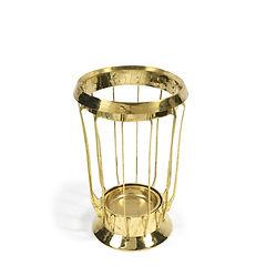Richard Muller K. M. Seifert Co umbrella stand porte-parapluies laiton brass 1900 1910