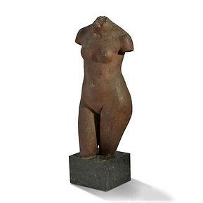 Marcel Gimond grès de grand feu Rouard Georges Serré cerémiste torse sculpture nu 1927 1930 wlérick despiau schnegg dejean janniot maillol