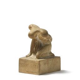 Boris Lovet lorski american sculptor resurgam plaster original 1920 american sculpture archipenko