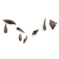 Alicia Penalba formes volantes envol résine sculpture murale monumentale 1968 pièce unique odette poulain argentine
