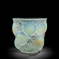 rené laliqe oran gros dahlias 1927 verre opalescent