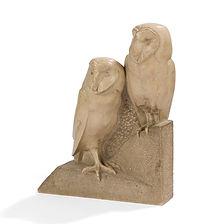 josette hébert coeffin sculpteure animalier salon des animaliers 1940 chouettes effraies pierre guyot jouve
