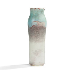 ernest chaplet 1880 grand vase sang de boeuf celadon