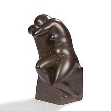 Chana Orloff collection Jean Paulhan Sala Prussac bronze sculpture villa seurat mallet stevens sculpteure sculptruce israel juive 1927 nu assis fauteuil
