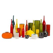 georges jouve collection 22 céramiques architecte rouleau pomme boule diabolo galet bouteille