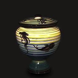 Rometti Pesce corradocagli umbertide italia ceramiche 1930 rometti baldelli gio ponti futurism lenci poisson fish polpo medusa octopuss pot soup bowl pescado