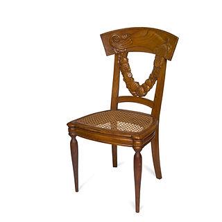 André Groult 1920 chaise bois sculpté art deco
