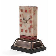 cartier pendule de table corail laque chinois 1930