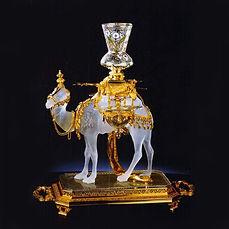 baccarat dromadaire cristal sculpture centre de table