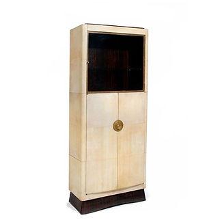 maison dominique domin genevriere art deco parchemin ebene de macassar meuble presentation