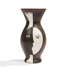 pol chambost vase série braque picasso visages 1956 record pour le modèle