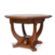 Peter Behrens mahogany table 1902 Darmstadt Deutscher Werkbund