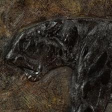 emmanuel eyraud paul jouve bronze bas-relief sculpture panthère panther art déco art deco auction encheres