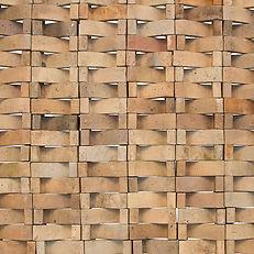 Pierre digan la borne ceramiste grès bruno charpentier claustra 300 éléments modulables 1975 48e salon artistes décorateur