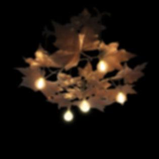 Brindeau de Jarny 1904 Claude lalanne yves saint laurent copper chandelier french art nouveau plane tree leaves ceiling light 1900 françois-xavier lalanne