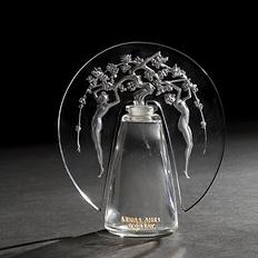 rené lalique flacon leurs âmes Orsay verrerie
