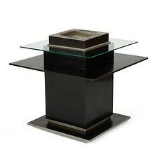 maison dominique table moderniste marcel genevriere andre domin 1930 rare