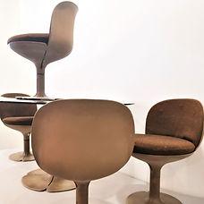 pierre paulin chaise table présidence pompidou élysées design