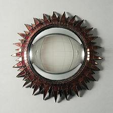 line vautrin miroir chardons rouge