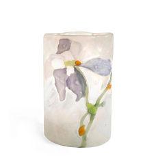 emile galle vase marqueterie verrerie art nouveau orchidée 1900 japonisme