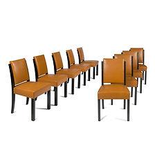 mallet stevens chaises salle a manger des parents villa cavrois croix nord 1929 1932 UAM modernisme architecte CMN préemption