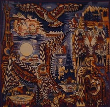 marcel gromaire tapisserie laine