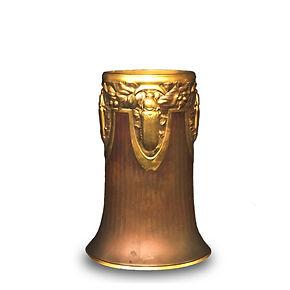 christofle beetles goldsmith1910 vase scarabée rare coleoptere silversmith gilded bronze dinanderie