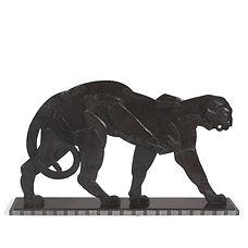 baguès frères pavillon de l'élégance exposition paris 1925 panthère fer forgé icône