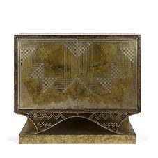 eugène printz jean dunand palmier 1934 meuble salon art d co dinanderie