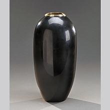 jean dunand vase dinanderie laque noire