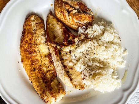 Filets de soles cuits meunière dans du beurre noisette citronné, conseillés par Damien Loriot !