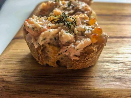 Mmmh les bonnes rillettes de saumon maison !