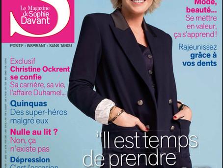 Le 3e numéro de S le magazine de Sophie Davant est sorti !