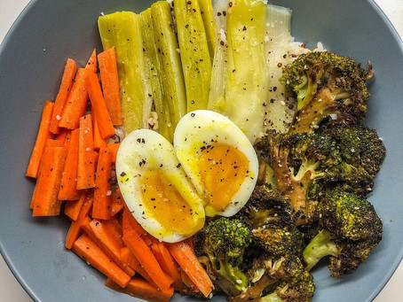 Allez... On lève le pied sur les excès : aujourd'hui, c'est bowl veggie !