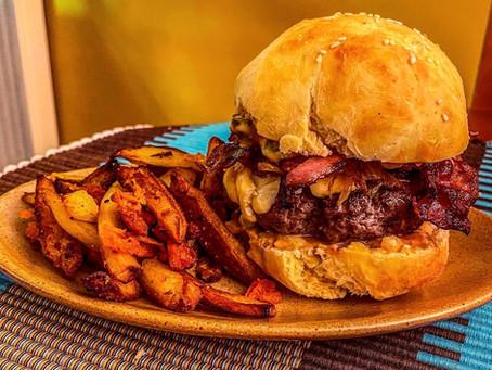 Pour faire une pause digestive au milieu des fêtes de fin d'année : une burger party !