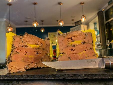 Et voilà la recette du foie gras mi-cuit maison de Jonathan Charlois, chef du bistrot Iodé !