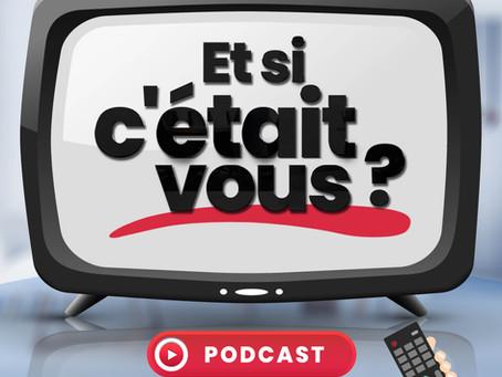 """Sortie du 1er épisode du podcast de Julien Gault """"Et si c'était vous"""", dont je suis l'invitée !"""