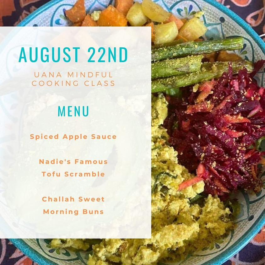 UANA Mindful Cooking Class