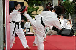 Northern Shaolin Girls Sparring