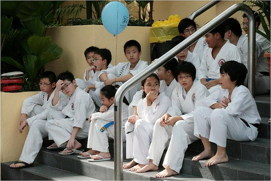 Northern Shaolin Students