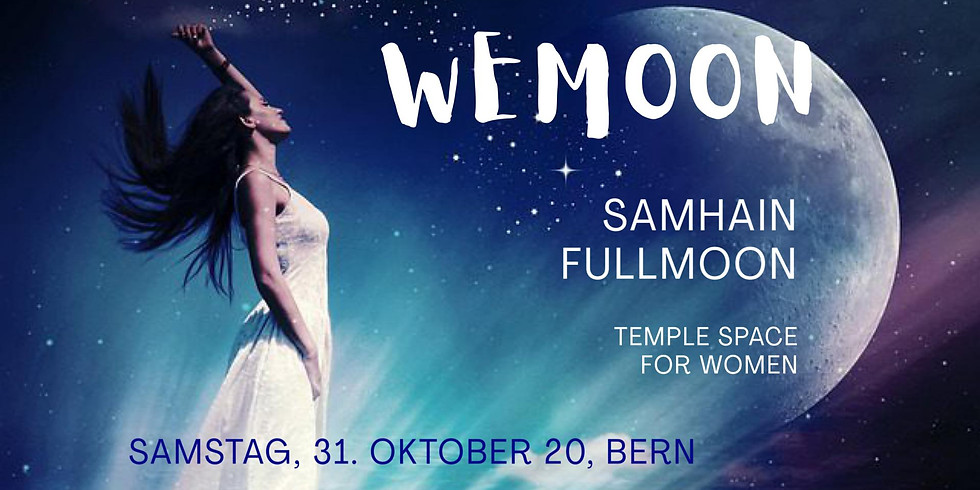 WEMOON - Samhain Fullmoon Temple for Women