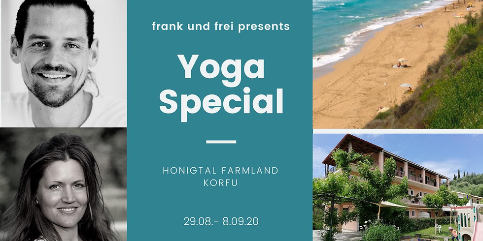 Yoga Special im Honigtal