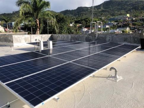 Solar/Battery System in Puerto Rico