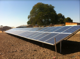 Microgrid at Sioma High School