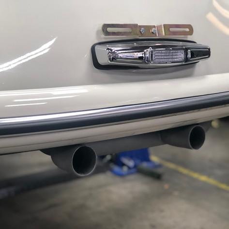 Twin Exhaust Tips