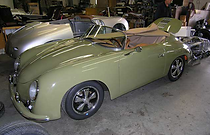 JPS Motosports 356 speedster replica fuchs alloys